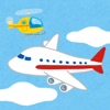 Swipe Airplane for kids