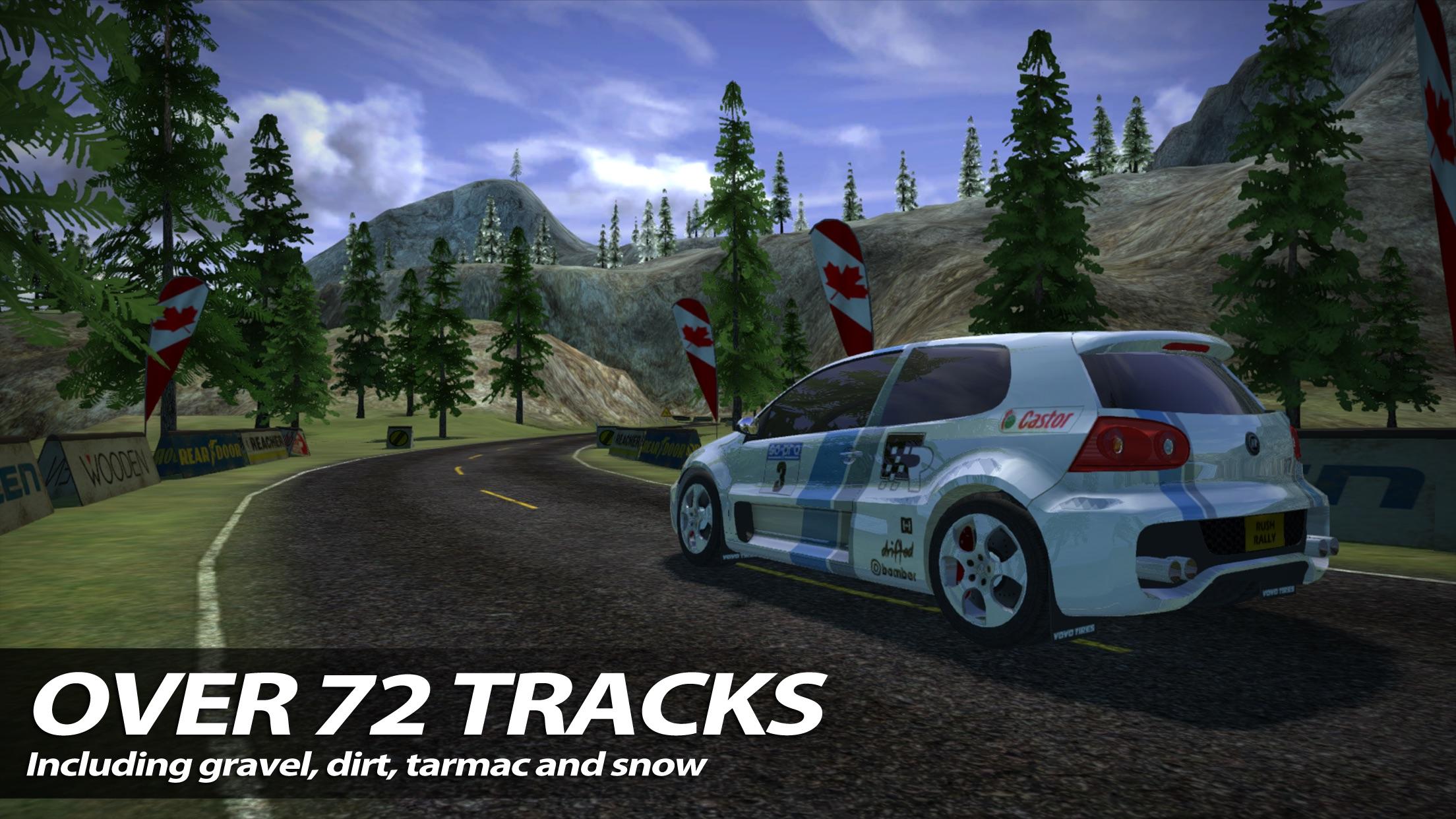 Screenshot do app Rush Rally 2