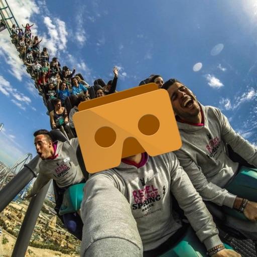 VR Roller Coaster Virtual Reality Google Cardboard
