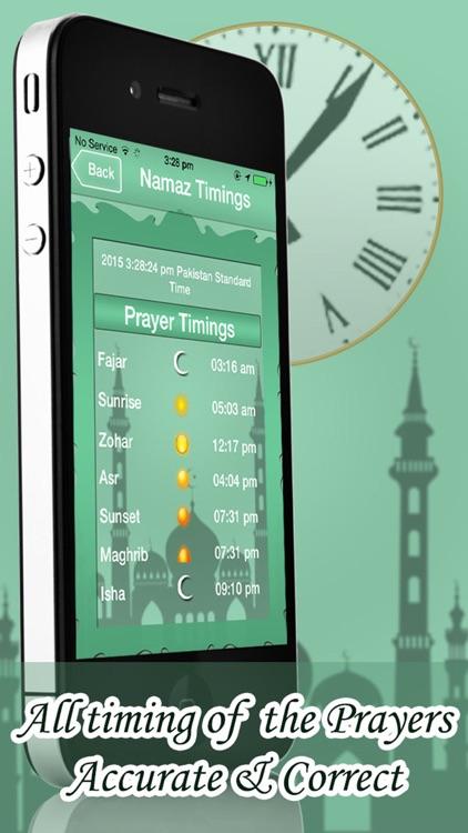 Qibla Compass And Namaz Timings screenshot-4