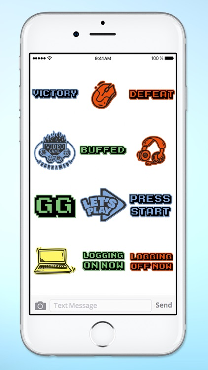 Gamer 4 Life Video Game Sticker Pack screenshot-3