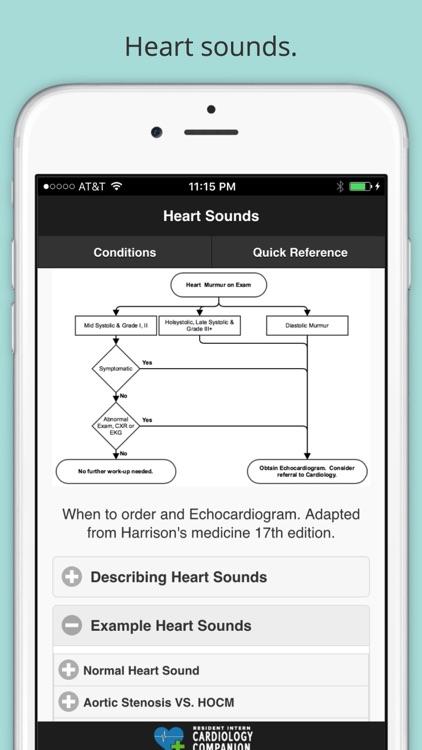Resident Intern Cardiology Companion screenshot-4