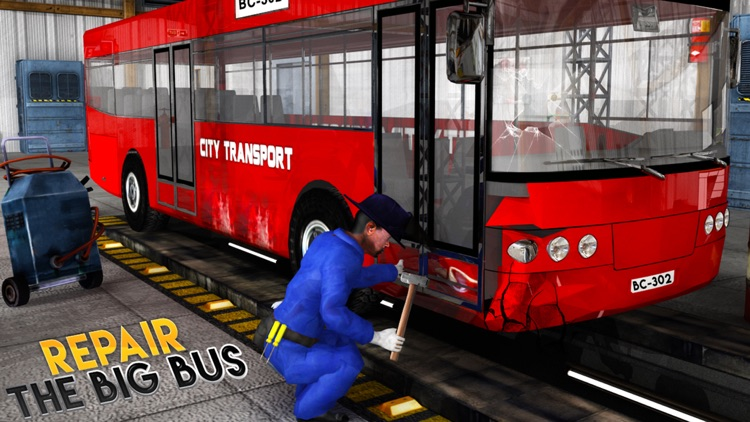 Real Bus Mechanic Simulator 3D Repair Workshop PRO