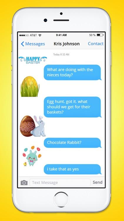 Happy Easter Basket Sticker Pack