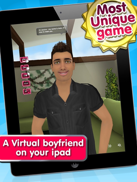 Virtual dating boyfriend