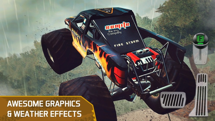 4x4 Dirt Track Trials Forest Driving Parking Sim screenshot-4