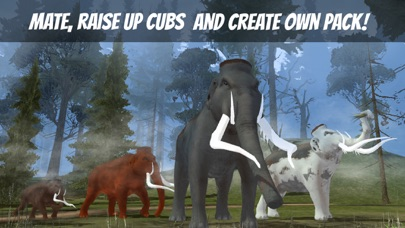 Mammoth Age Survival Simulator 3D screenshot three