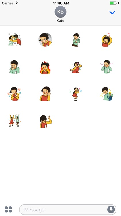 Animated School Day Stickers For iMessage screenshot-3