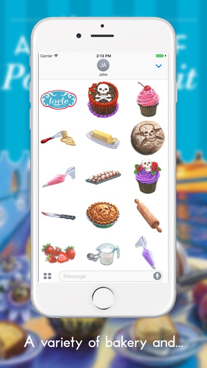 Bakeshop Mystery Stickers screenshot-2