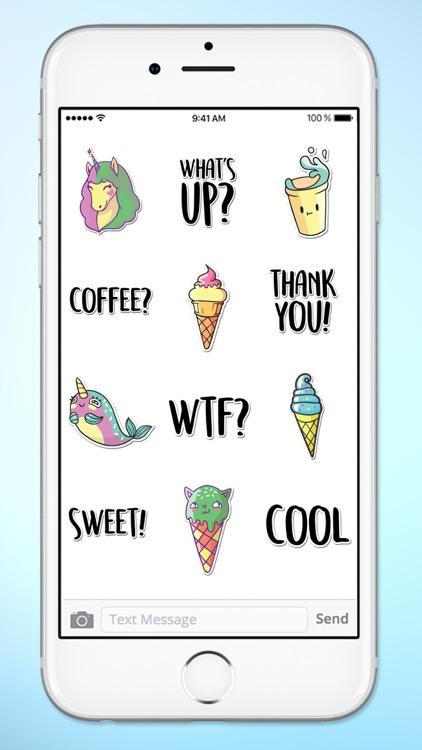 Super Happy Fun Sticker Pack screenshot-3