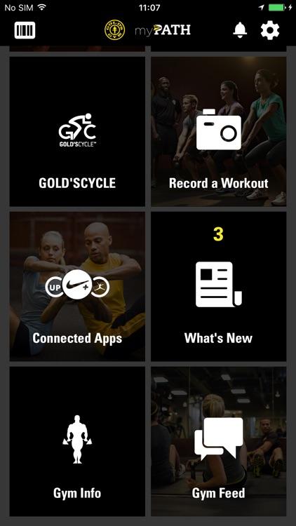 Gold's Gym myPATH screenshot-4