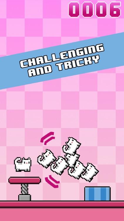 Cat-A-Pult: Endless stacking of 8-bit kittens screenshot-4