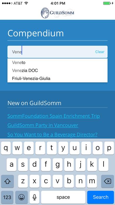 GuildSomm Compendium Screenshot