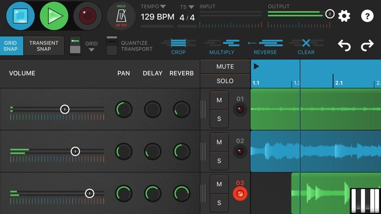 Looperverse – Multitrack Loop Recorder screenshot-3