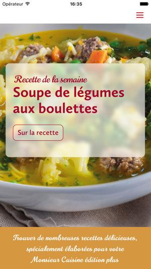 Monsieur Cuisine Dans L App Store