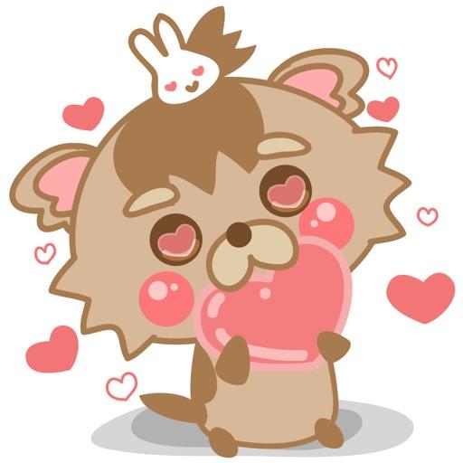 Yorkshire Terrier Puppy for iMessage Sticker