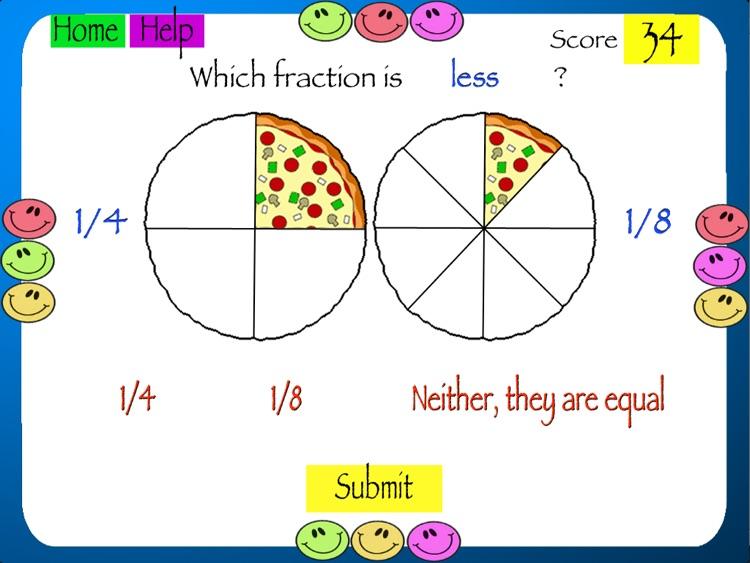 Comparing Fractions screenshot-3