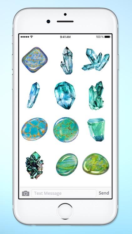Healing Gems and Crystals Sticker Pack screenshot-3