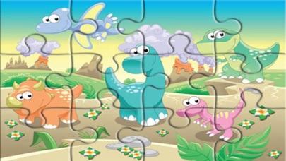 Dinosaur Jurassic Jigsaw Games screenshot one