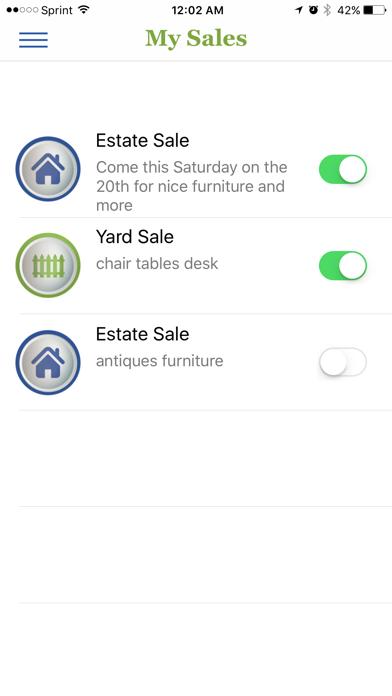 Yard Hound - Yard Sale Finder screenshot two