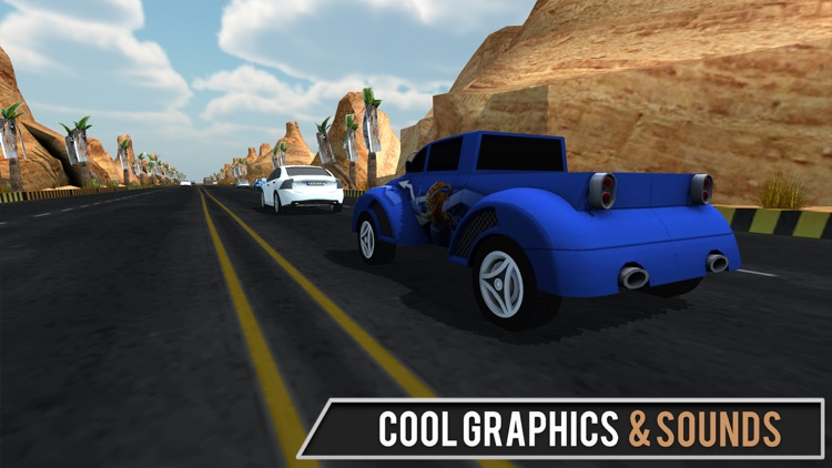 Offroad Racing in Car Simulator 2017 screenshot-4