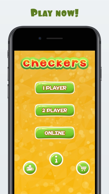 Online Checkers With Friends