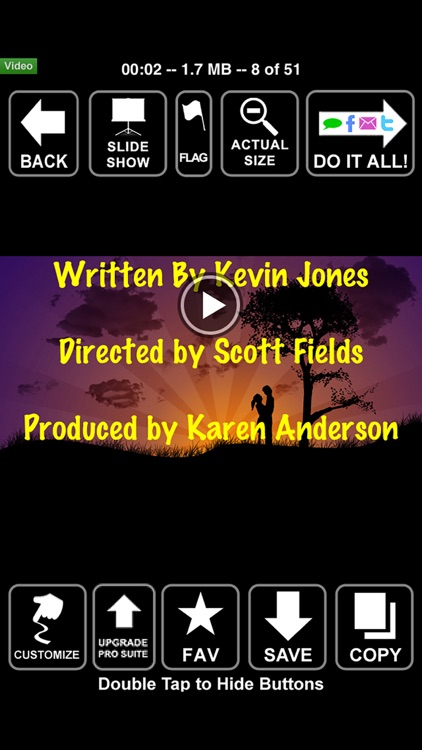 Scrolling Credits - Use with iMovie to Scroll Text screenshot-4