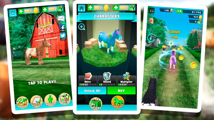 My Pony Horse Riding - The Horses Racing Game screenshot-3