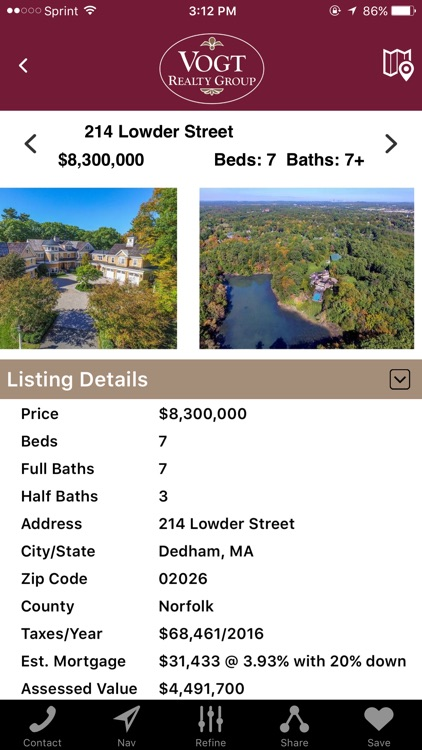 Vogt Realty Group Home Search screenshot-3