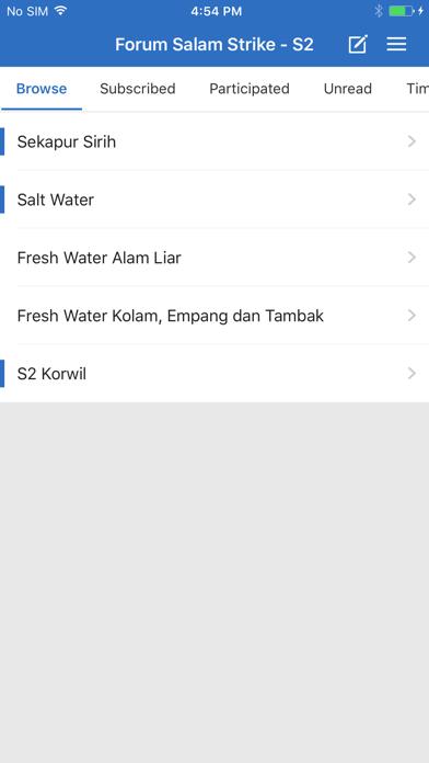 Forum Salam Strike S2 screenshot 1