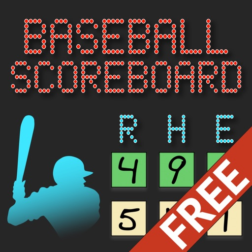 Lazy Guy's Baseball Scoreboard Free