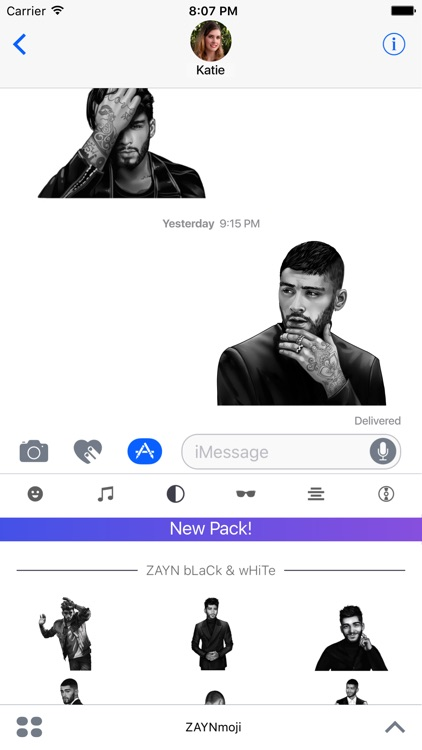 ZAYNmoji screenshot-2
