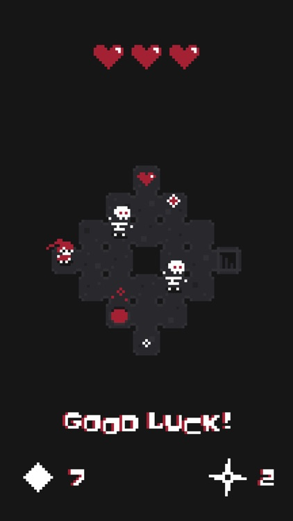 Red Hearts - Tiny Dungeon Crawler