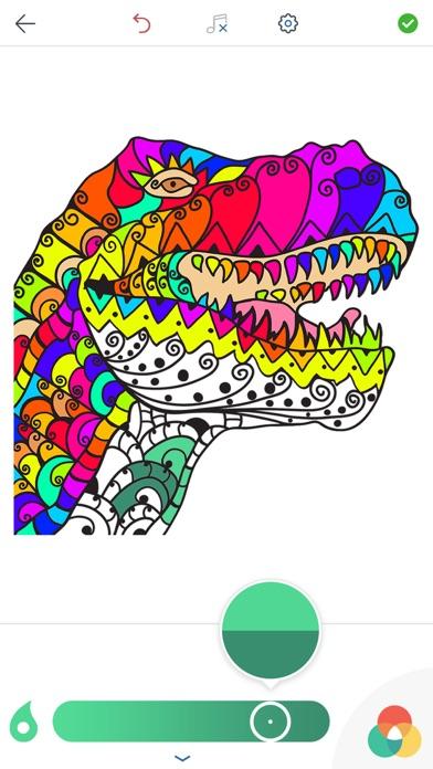 Juegos de Colorear DinosauriosCaptura de pantalla de3