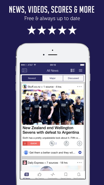 Rugby News - Live Scores and Top Stories