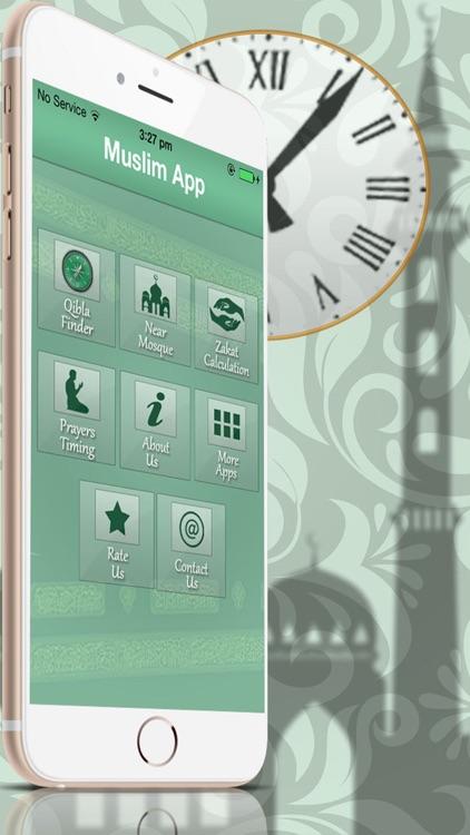 Qibla Compass And Namaz Timings screenshot-3