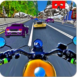 VR Crazy Bike Race: Traffic Racing Pro