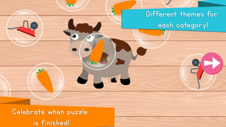 Animals Puzzle for Kids and Toddlers screenshot-3
