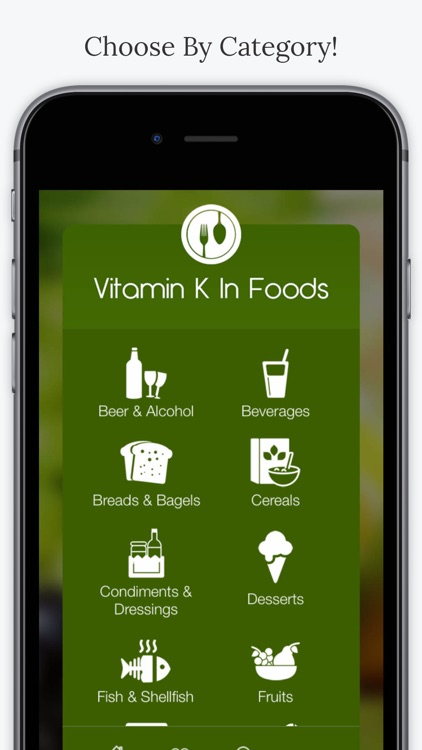 Vitamin K In Foods