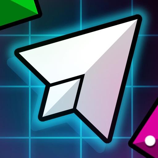 Geometry Sonic Dash Race - Super Swipe Arc King iOS App