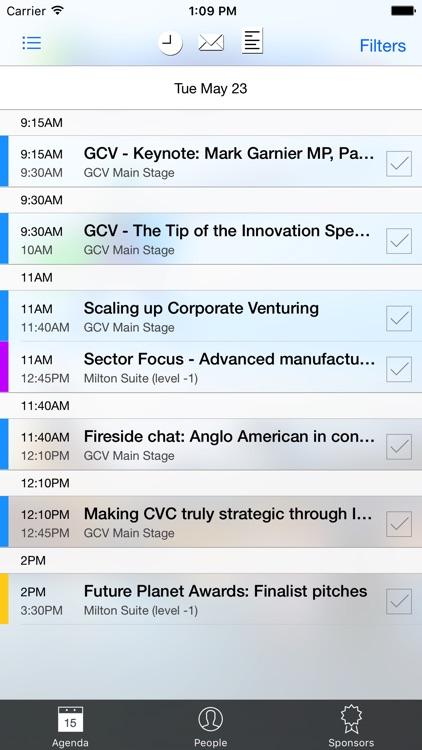 GCV Symposium 2017 app image