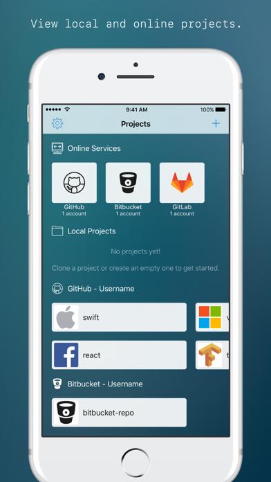Top 10 Apps like GitDrive - Git client & server in 2019 for