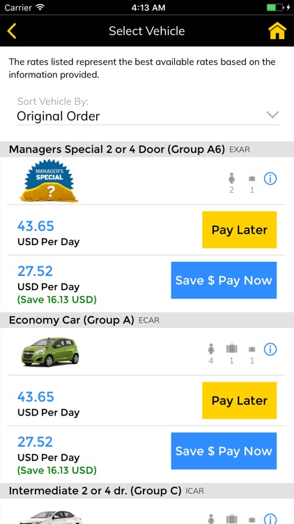 Hertz Rent-a-Car screenshot-2