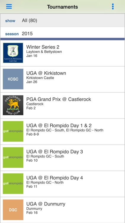 The PGA Ireland screenshot-1