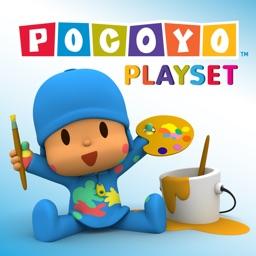 Pocoyo Playset - Colors
