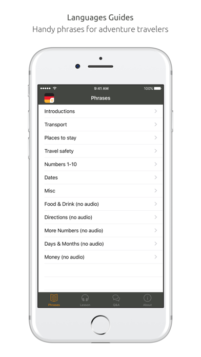 German Language Guide & Audio - World Nomads screenshot two