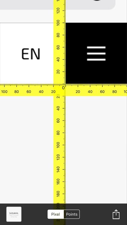Pixel Ruler
