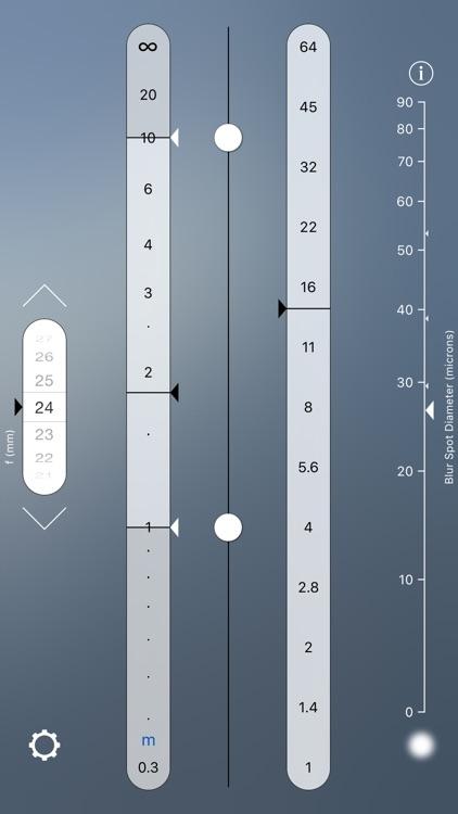 OptimumCS: The Optimum Camera Settings Calculator