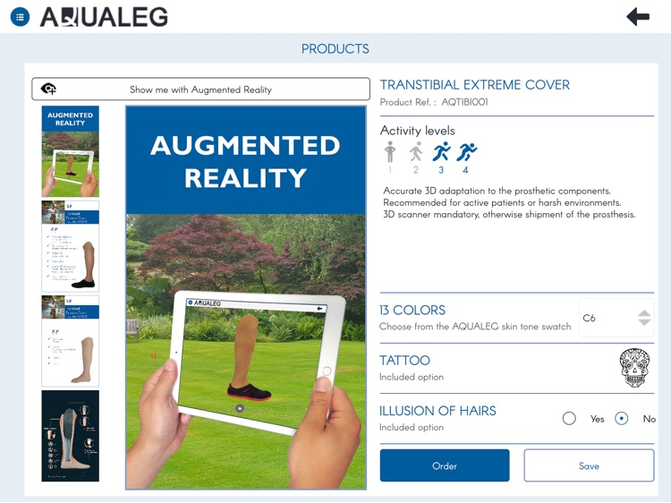Aqualeg screenshot-0