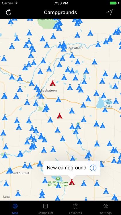 Saskatchewan – Campgrounds & RV Parks